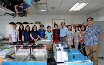 HRM Kitchen Equipment Upgrading: a Generous Gift from Ms. Betty Ah