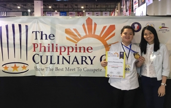 HRM CKSian Earned Gold Award in the 2019 Philippine Culinary Cup