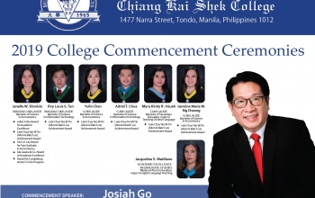 CKS College Commencement Exercises 2019
