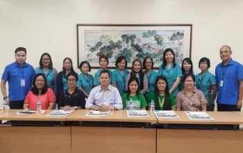 DLSU PhD Students Visit CKS College