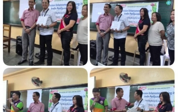 DepEd Malabon Invites Dr. Datuon to Deliver a Lecture