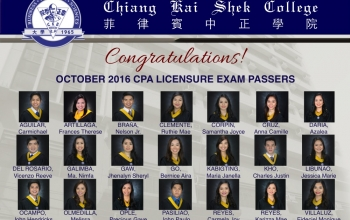 October 2016 CPALE Produces New CKSian CPAs