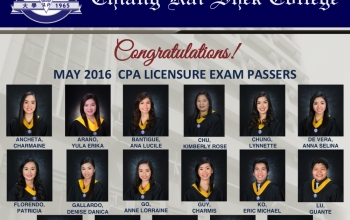 100% of CKSian First Time Takers Pass the May 2016 CPA Licensure Exams