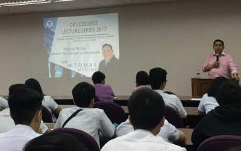 Lecture Series: Bridging the Industry-Academe Gap
