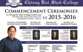 Commencement Exercises 2016