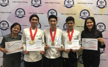 CKS College is Top Placer at the Umami Culinary Challenge
