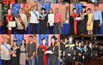 中正學院大學部隆重舉行2015-2016年度畢業典禮 前菲大校長、參議員洪加拉 擔任主講人嘉言勉勵畢業生