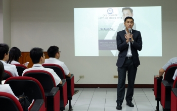 "Lecture Series Part 3: ""Bridging the Industry-Academe Gap"" with Mr. Benjie Yap"