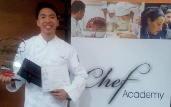 Macgyver Tan is Dolce Champ in European Culinary Competition